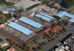 Luftbild Baubetriebshof