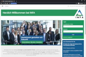 Online-Plattform schulung.infa.de